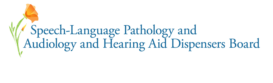 Speech-Language Pathology and Audiology and Hearing Aid Dispensers Board